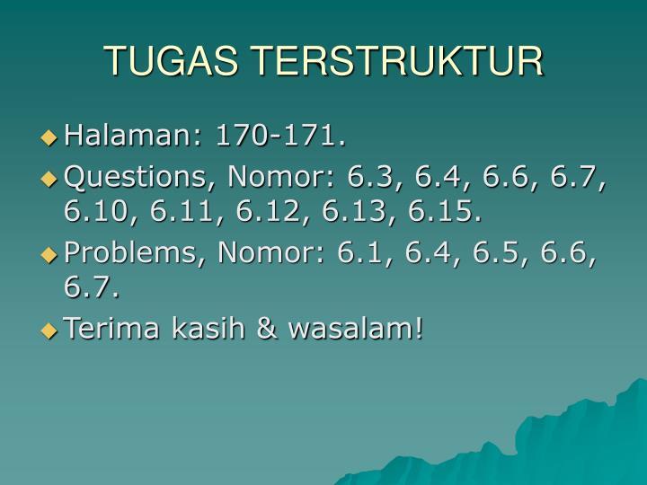 TUGAS TERSTRUKTUR