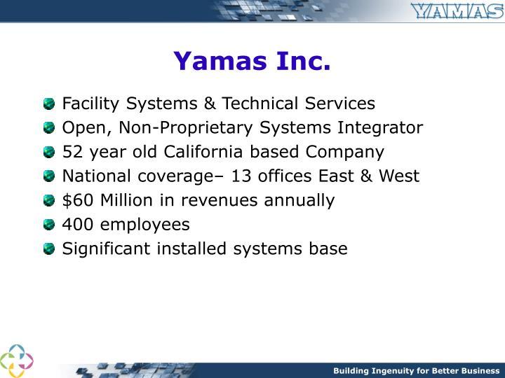Yamas Inc.