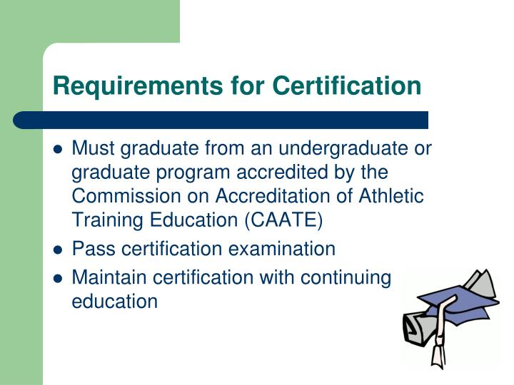 Dorable Athletic Training Certification Image Collection - Online ...