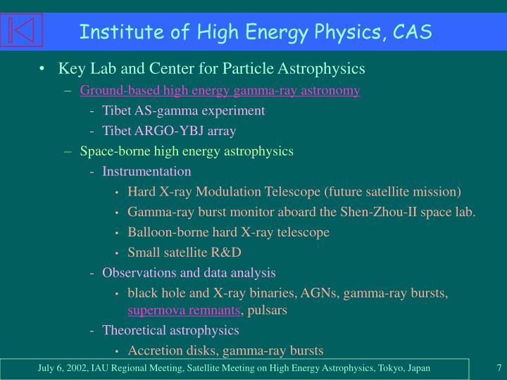 Institute of High Energy Physics, CAS