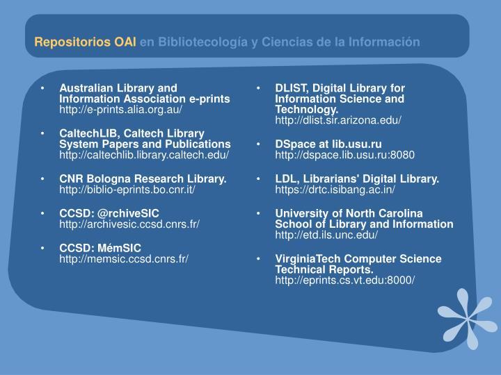 Australian Library and Information Association e-prints