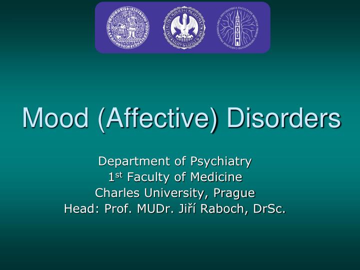 mood disorder Unspecified mood disorder is one in which the symptoms may fall under two or more of the other types of mood disorders while the exact causes aren't known, this mood disorder is thought to be connected to a chemical imbalance in the brain.
