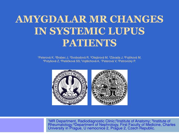 amygdalar mr changes in systemic lupus patients
