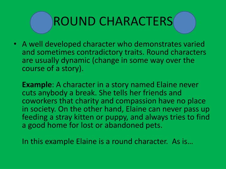 dynamic or round character