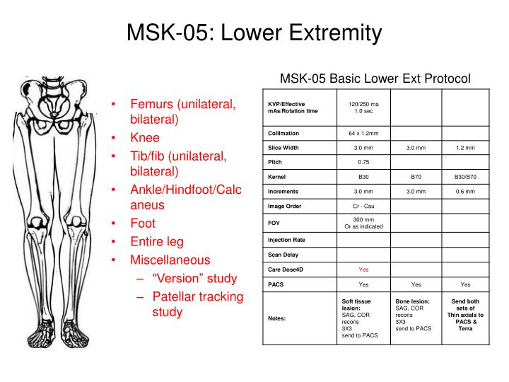 MSK-05: Lower Extremity
