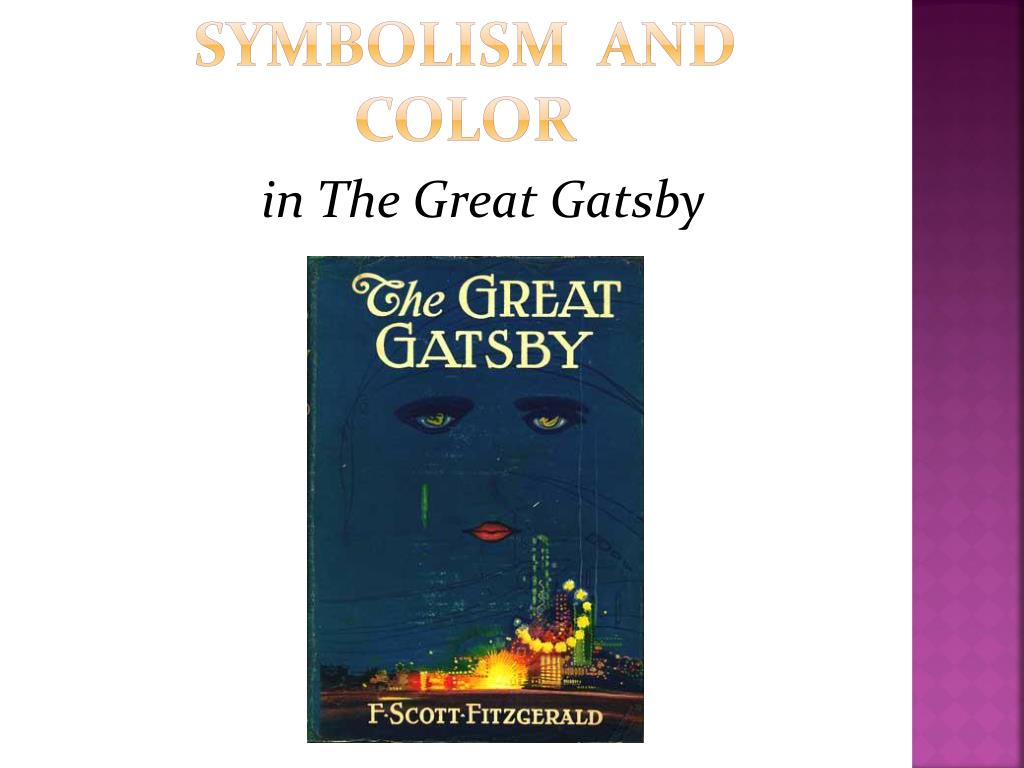 Symbolism In The Great Gatsby compare and contrast essay papers ...