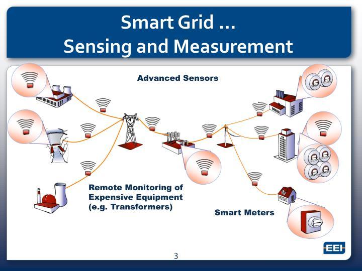 Smart grid sensing and measurement