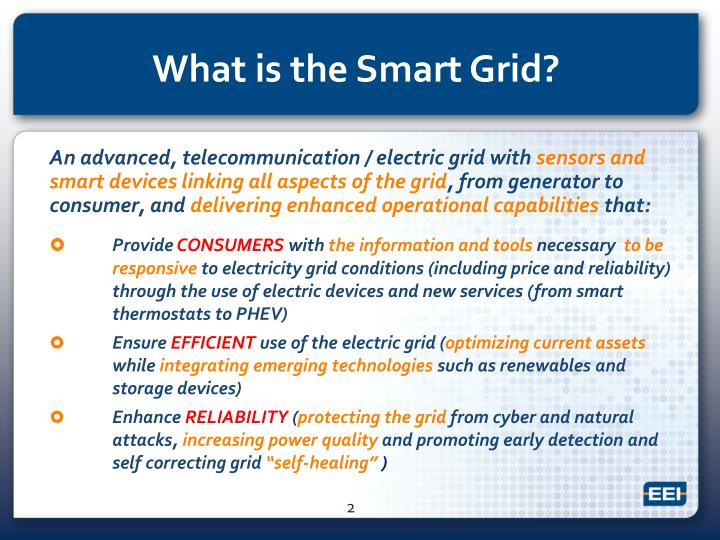 What is the smart grid