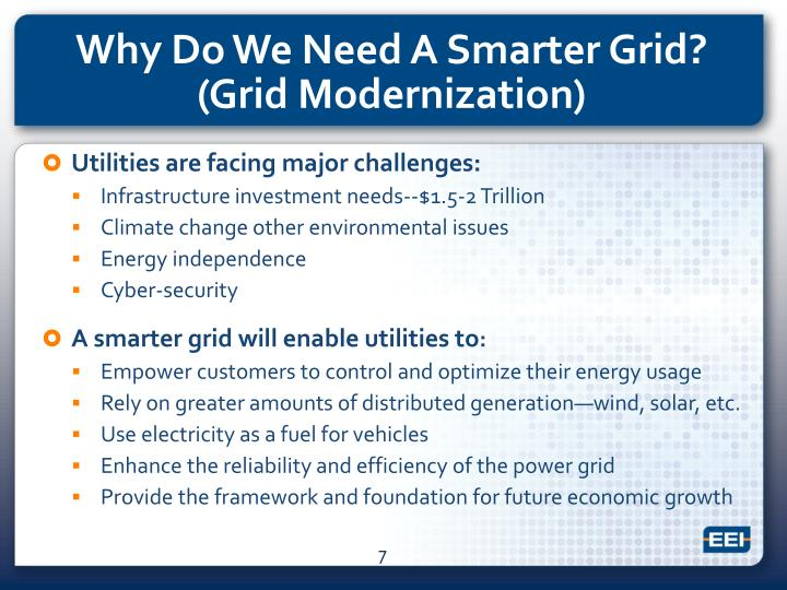 Utilities are facing major challenges: