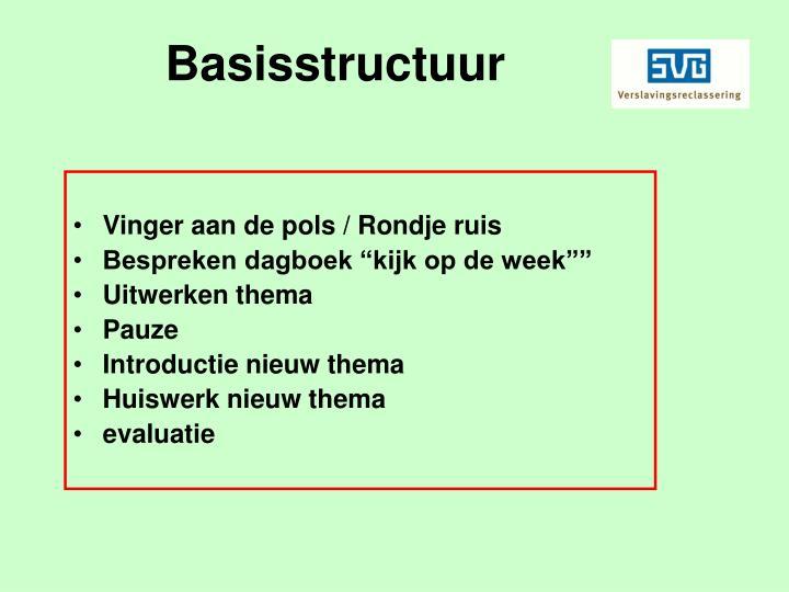 Basisstructuur
