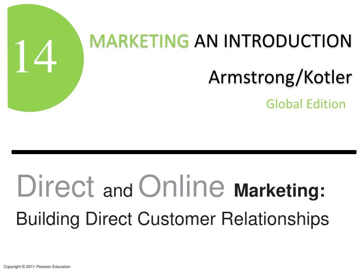 direct and online marketing building direct customer relationships n.