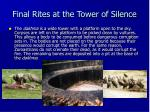 final rites at the tower of silence1