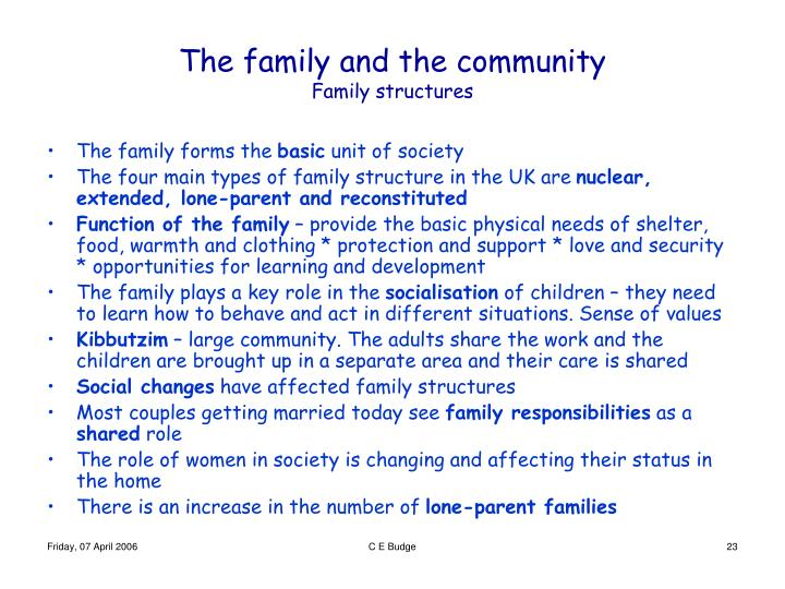 discuss impact societal change family structures functions The effect of social change on the family the sociology of the family can be broken has and does reflect the true structure of families in american society.