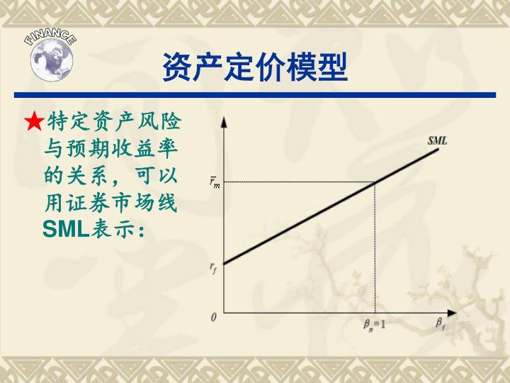 资产定价模型
