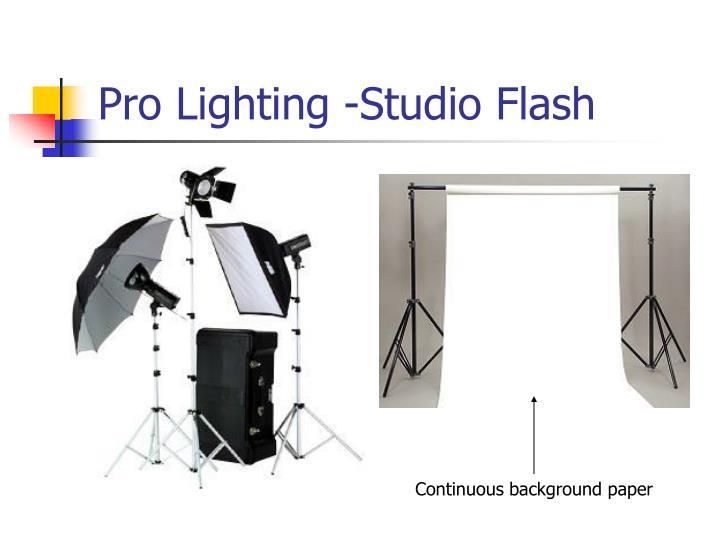 Pro Lighting -Studio Flash
