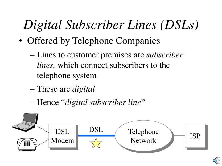 the advancements in digital subscriber line dsl technology Symmetric digital subscriber line (sdsl) is a technology based on dsl, which enables data transfer on a single line and allows symmetric bandwidth on the upstream and downstream the working mechanism of sdsl is considered opposite to that of asymmetric digital subscriber line (adsl) technology, which offers much faster.