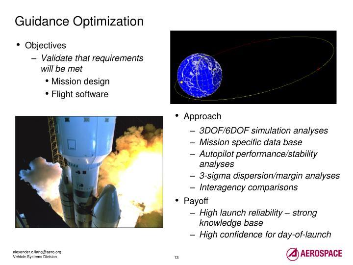 Guidance Optimization
