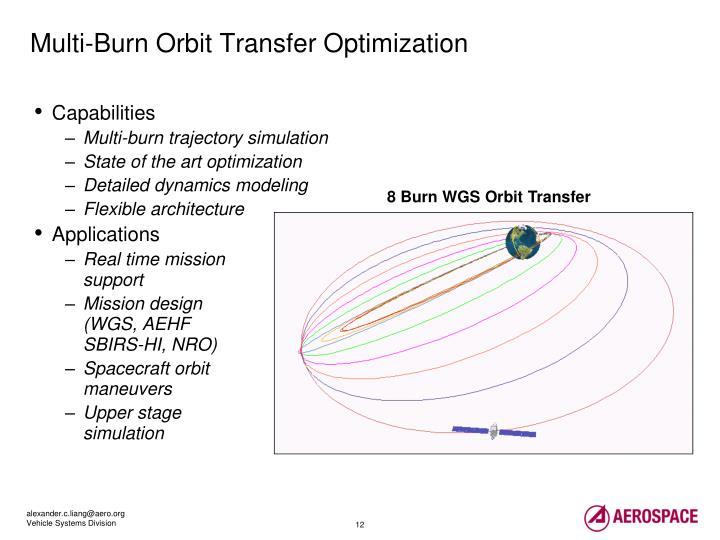 Multi-Burn Orbit Transfer Optimization