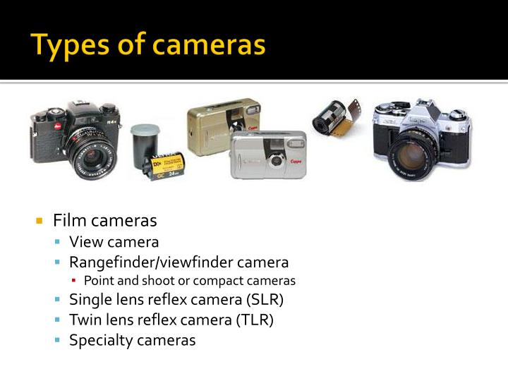 Types of cameras1