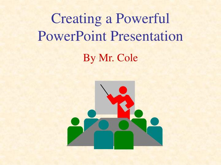 ppt creating a powerful powerpoint presentation powerpoint