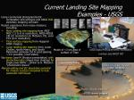 current landing site mapping examples usgs