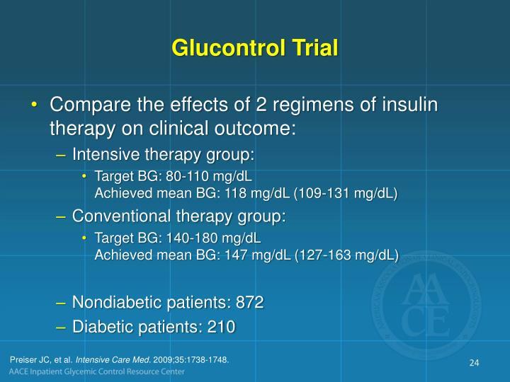 Glucontrol Trial