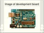 image of development board