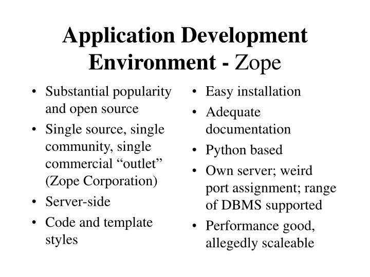 Substantial popularity and open source