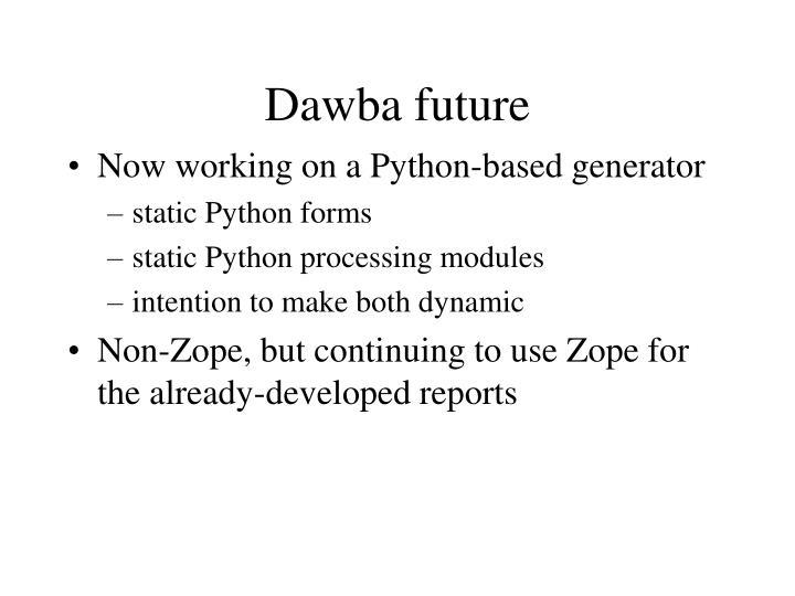 Dawba future