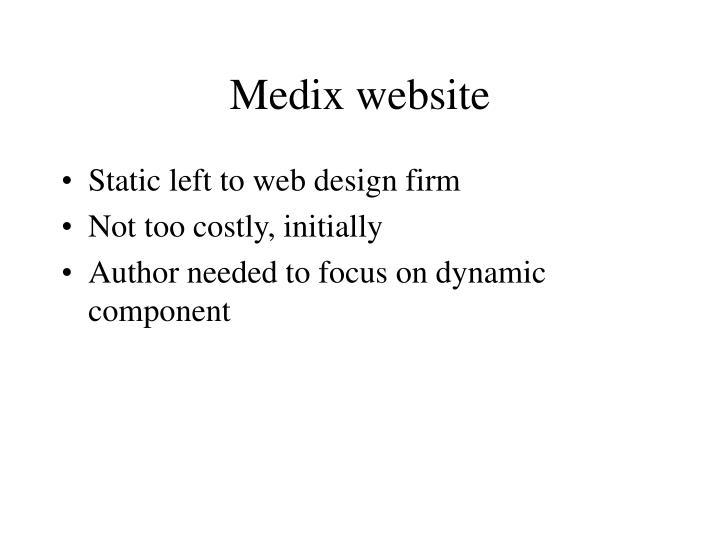Medix website