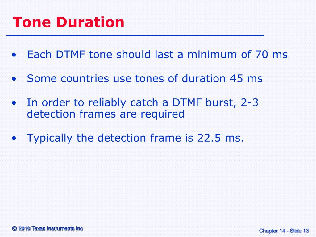 "PPT - ""DTMF Generator"