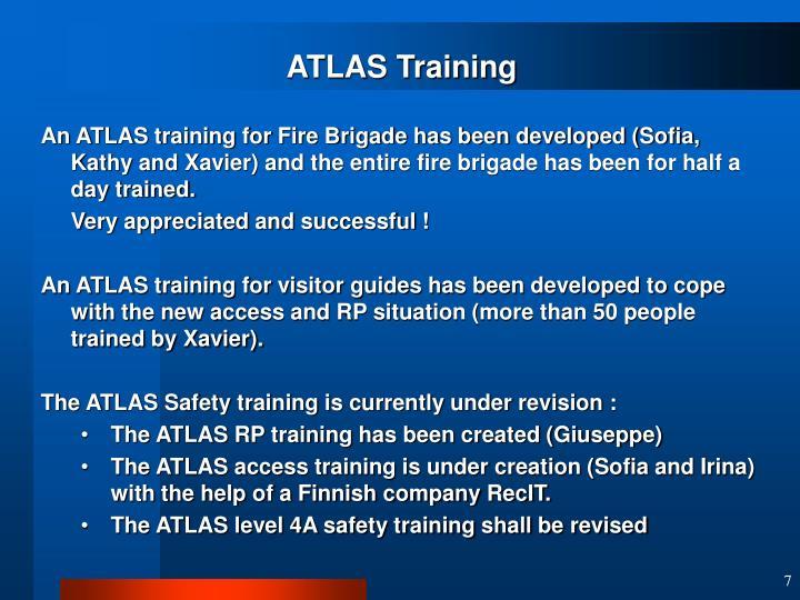 ATLAS Training