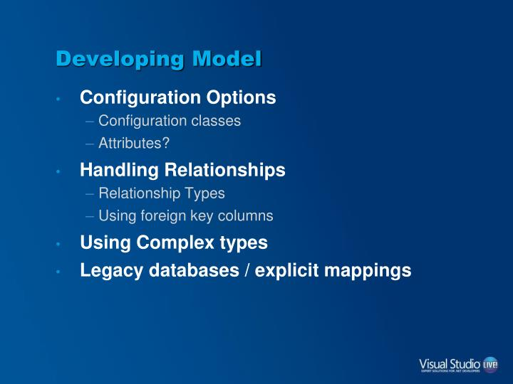 Developing Model