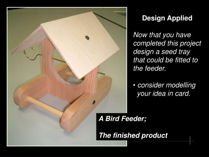 Design Applied
