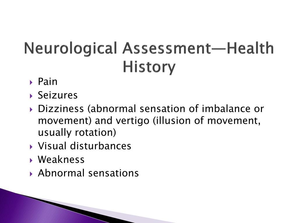 PPT - Assessment of Neurologic Function PowerPoint Presentation - ID
