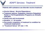 adapt services treatment