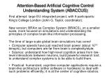 attention based artificial cognitive control understanding system abaccus