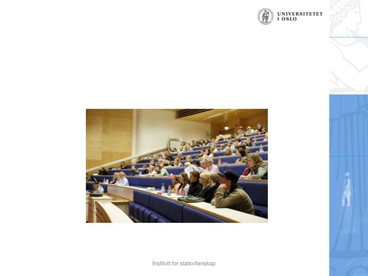 Institutt for statsvitenskap