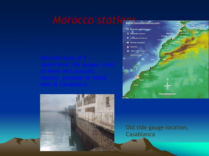 Morocco stations