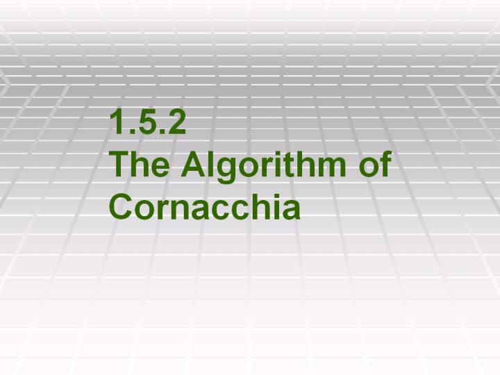 1 5 2 the algorithm of cornacchia