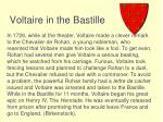 voltaire in the bastille