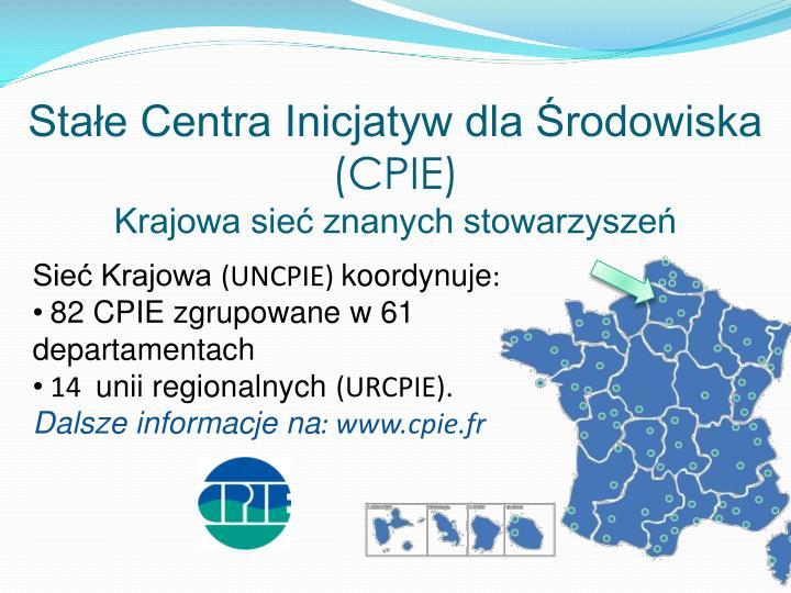 Sta e centra inicjatyw dla rodowiska cpie krajowa sie znanych stowarzysze