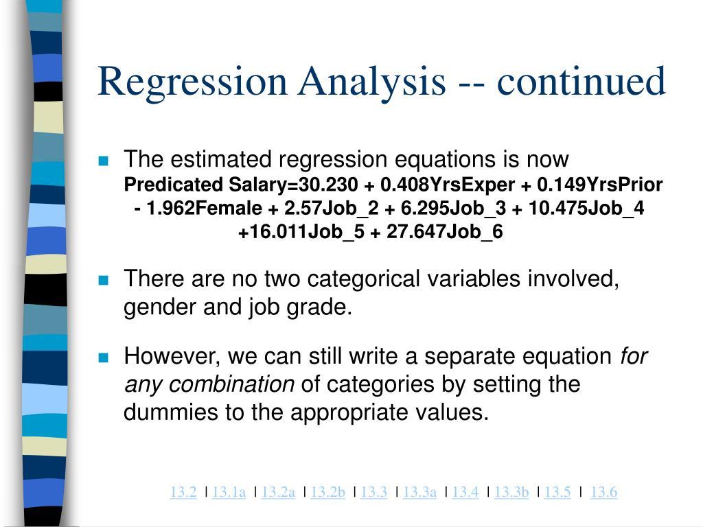 Regresjonsanalyse For Dummies