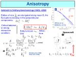 anisotropy