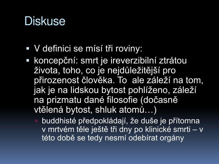 Diskuse
