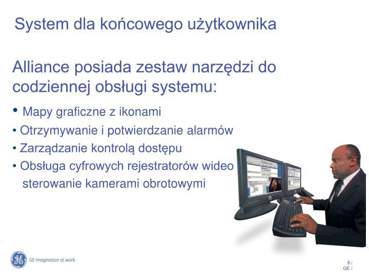 System dla końcowego użytkownika