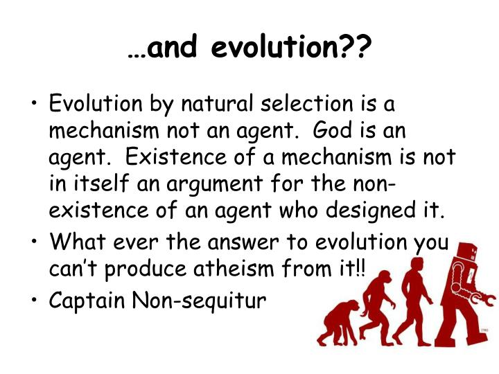 …and evolution??