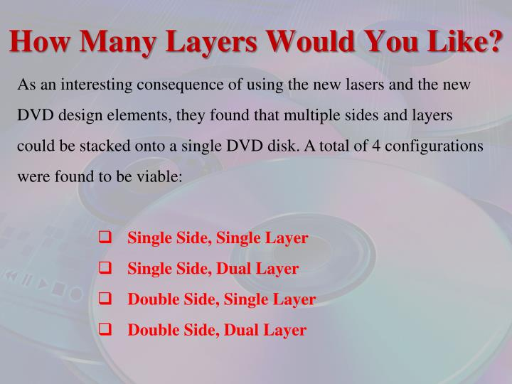 How Many Layers Would You Like?