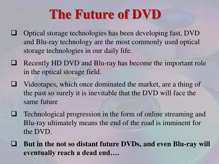 The Future of DVD