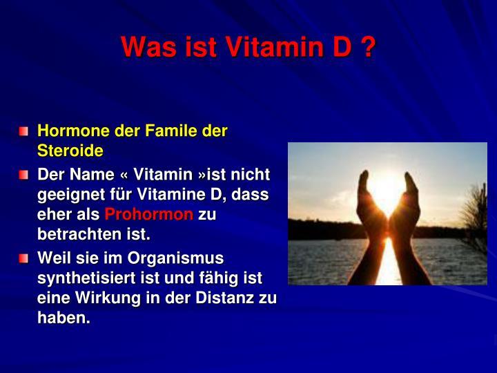 Was ist vitamin d